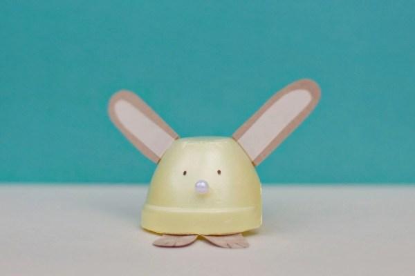 Egg Carton Bunny And Chick