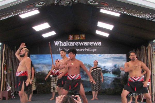 aldea maori rotorua