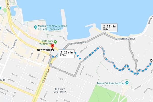 mapa aparcar