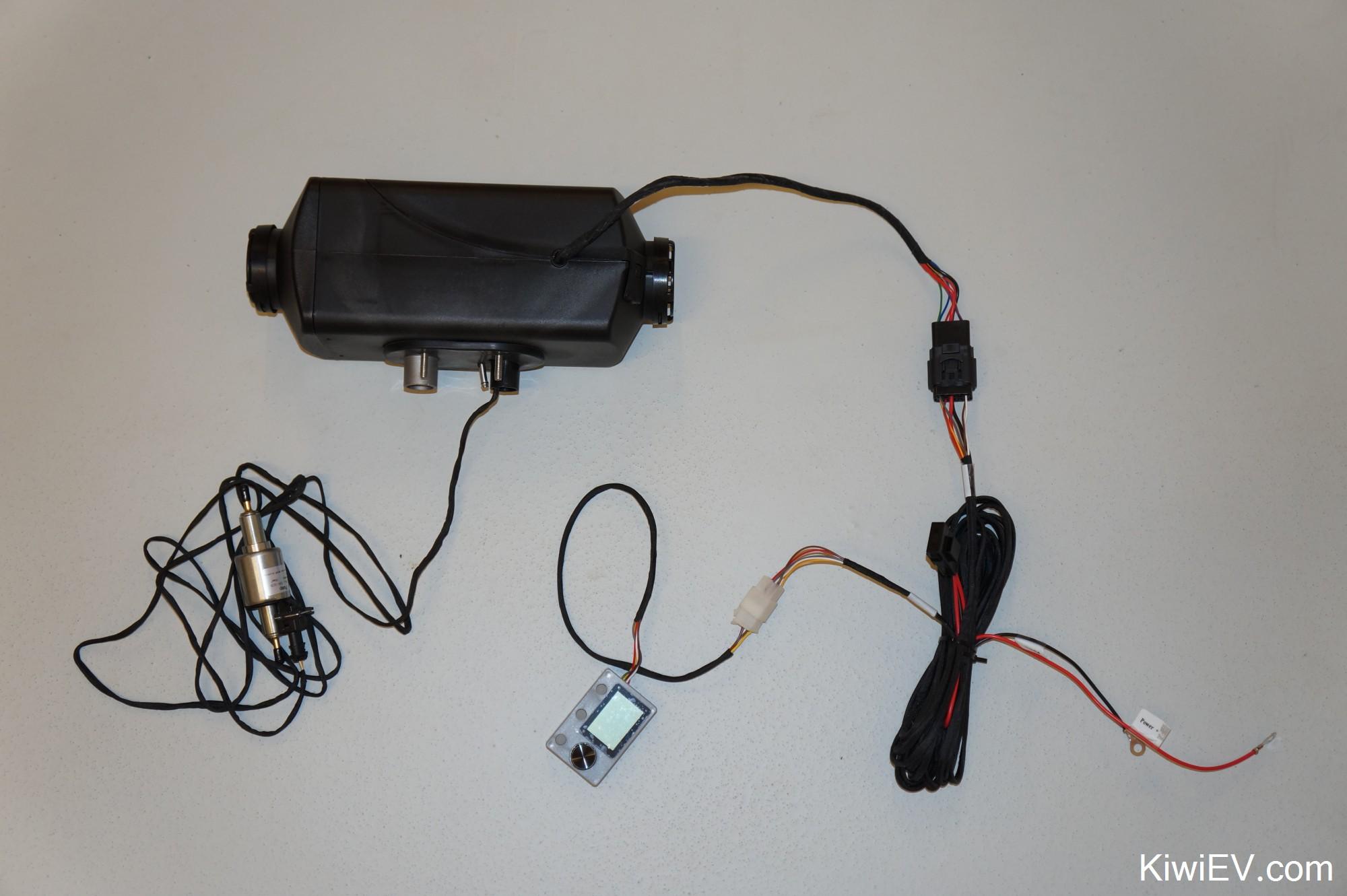 hight resolution of diesel parking heater close up aliexpress chinese clone of eberspacher parking heater