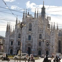 Spires of Milan: the Duomo