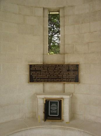 Memorial at cemetery