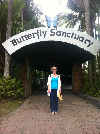 Visit to the Butterfly Sanctuary