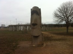 Easter Island in Texas!