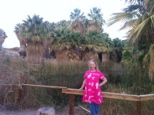 Debbie at the oasis