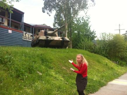 Upwey RSL Tank