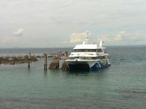 The ferry transport