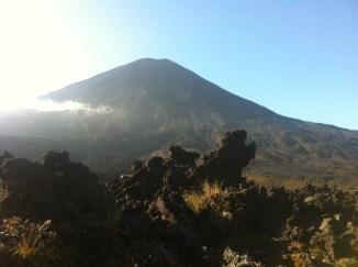 Mount Nguarahoe at the beginning