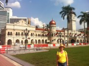 Main square in KL