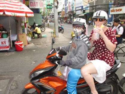 A cool drink in Saigon