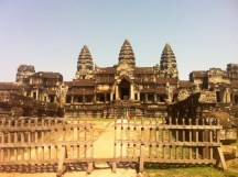 Angkor Wat from the back