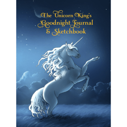 The Unicorn King's Goodnight Journal and Sketchbook