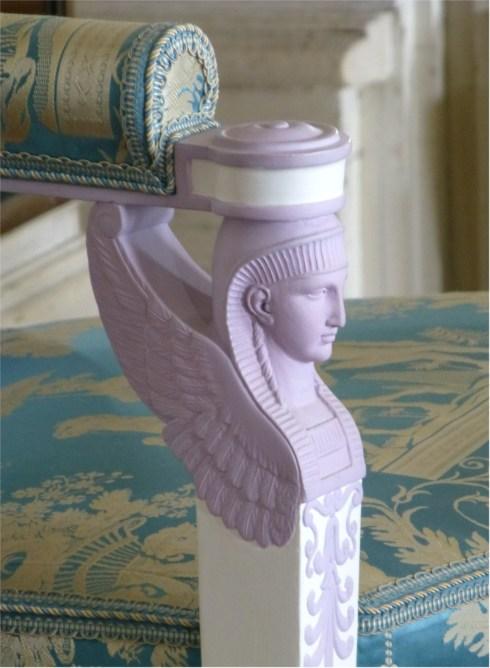 "Accoudoir ""retour d'Egypte"" ©SB"