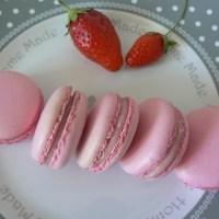 Macarons à la fraise (Christophe Felder)