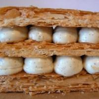 Mille-feuille vanille de la Pâtisserie des Rêves (Philippe Conticini)