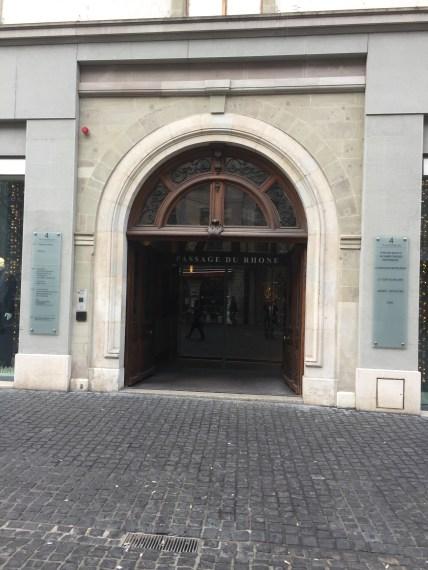 Door in Genève