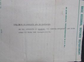 Memorial Scroll Letter bck