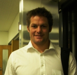 Richie Mc Caw - NZ's ALL BLACK captain