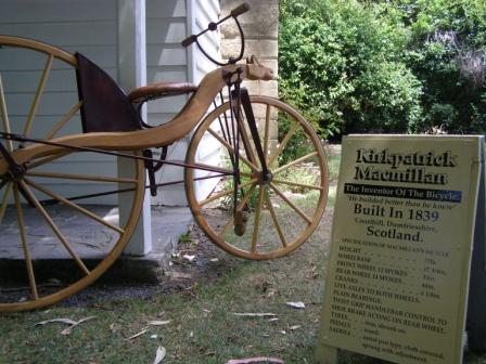 did you know the bike was invented in Scotland?