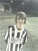 Darryl Topp Forward Great attitude, set piece specialist in front of goal, getting stronger every week.