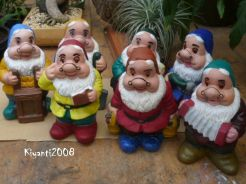 Gnomes - 7 Dwarfs after