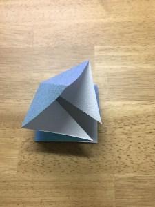 折り紙 折鶴 作り方13