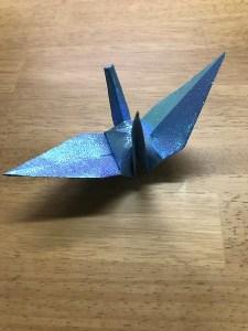 折り紙 折鶴 作り方2-55