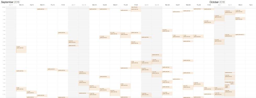 parks-schedule