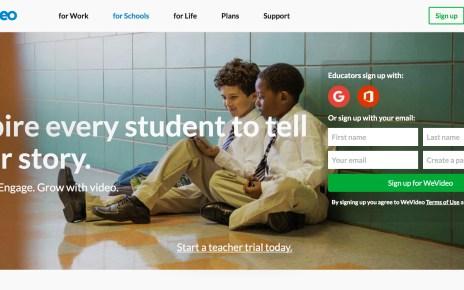 Wevideo Webアプリ ウェブアプリ 教育用 ビデオ編集
