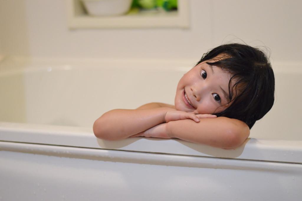 水疱瘡 お風呂