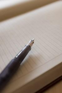 原稿用紙 万年筆 作家