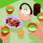 食事 家族 団欒 和食