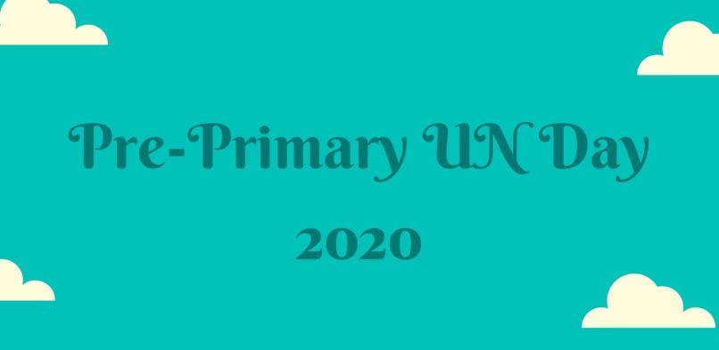 Pre-Primary UN Day 2020