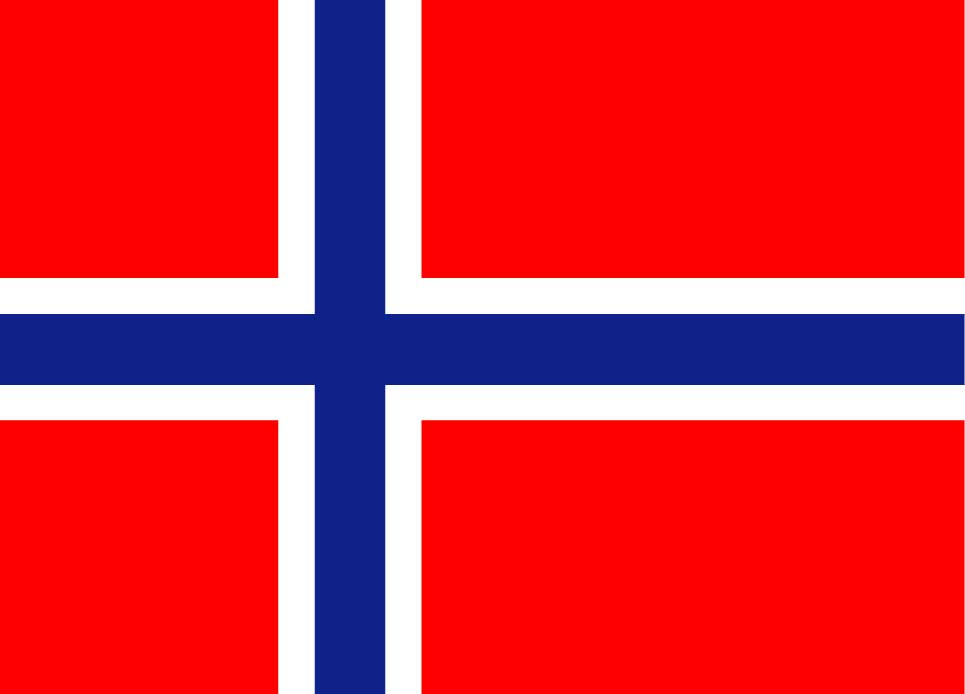Norsk-flagg