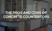 Marble Bathroom Countertops Pros And Cons. Concrete