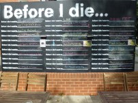 Before I die at 7 Arts