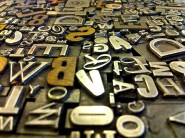 letters in a press
