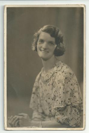 Margaret McClements (b abt 1910) 26 Aug 1935