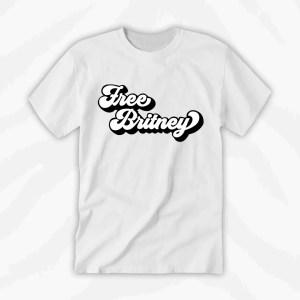 Free Britney Tshirt Black Design