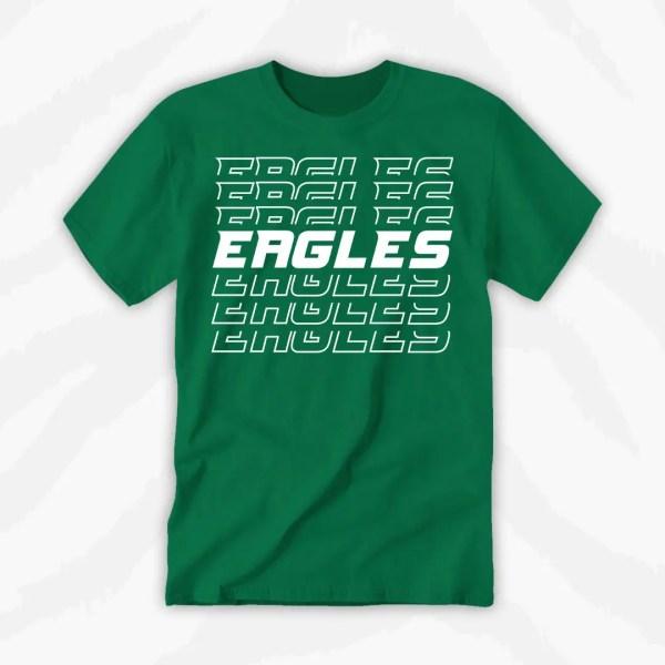 Eagles Football Team Shirt