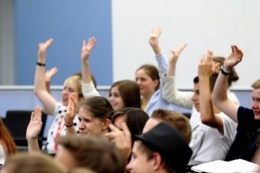 """Jugend hakt nach"" am 21.11.2018 im Stuttgarter Landtag"