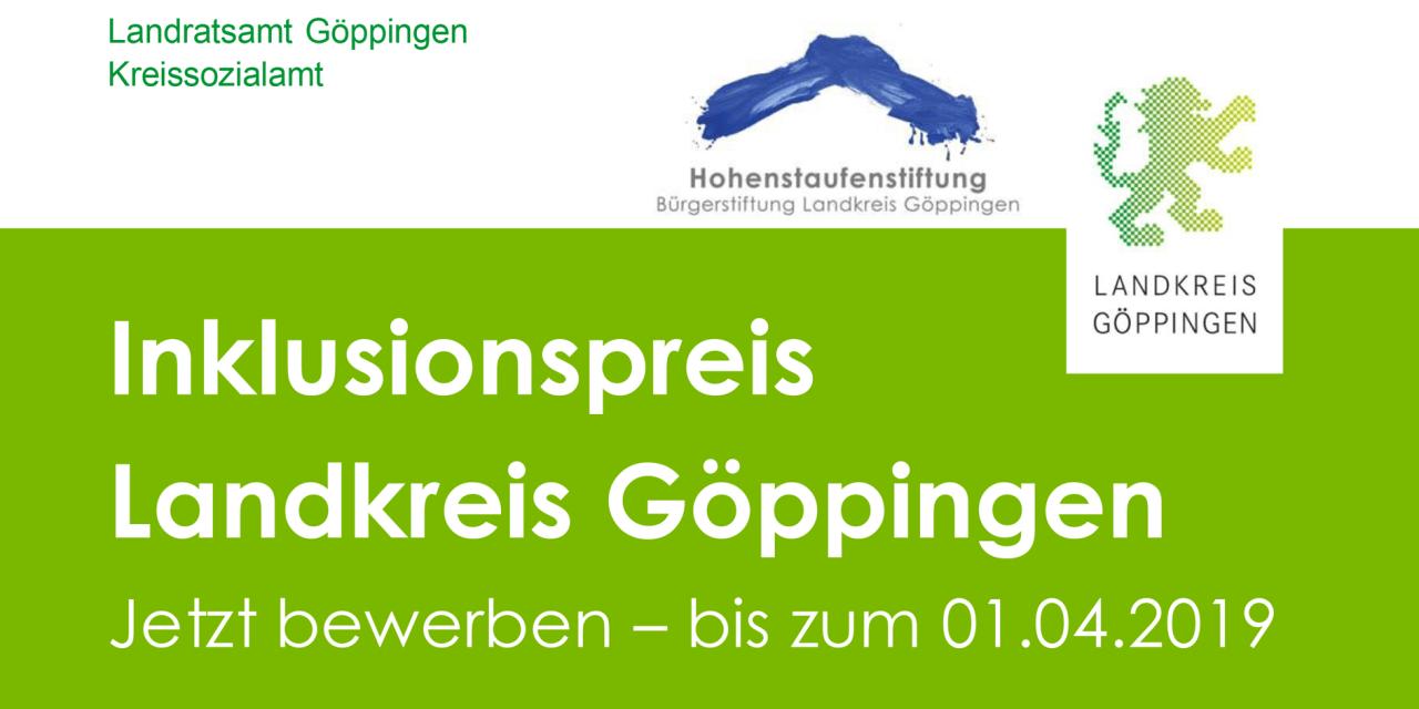 Inklusionspreis Landkreis Göppingen