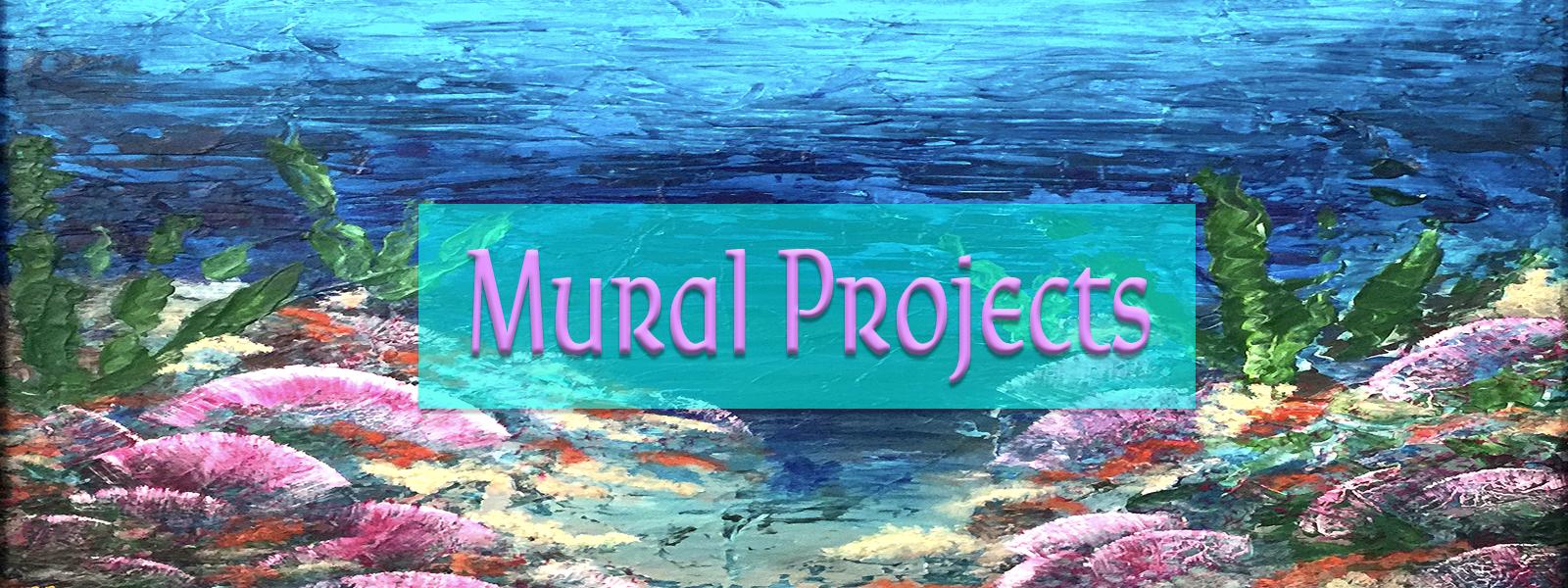 KJ's Art Studio ~ KJsArtStudio.com | Mural Art, Mural Projects, Mural Wall Art, Wall Murals, Commission Art, Commissions, KJ Burk