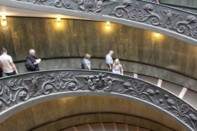 The famous Vatican stairs