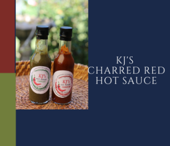 KJs Charred Red and Green Hot Sauce