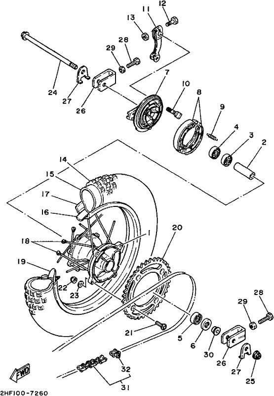 Yz80 Wiring Diagram : Diagram Yz 80 Wiring Diagram Hd