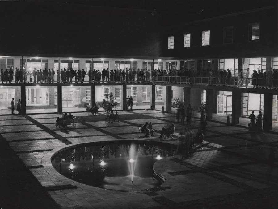 The Taylor Garden in the 1950s.
