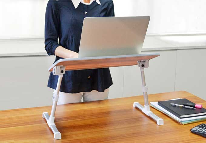 Image result for portable standing desk