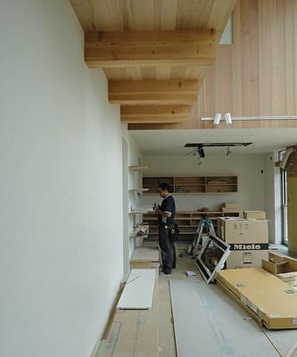 天井埋め込みエアコン設置