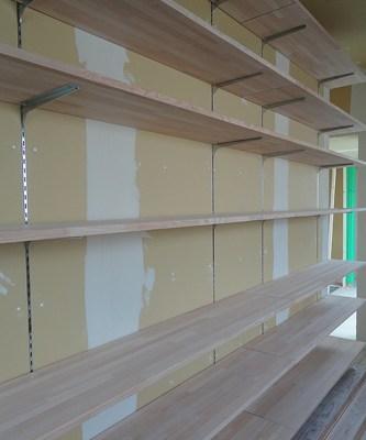 造り付け本棚大工造作
